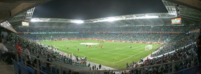 איצטדיון סמי עופר, משחק בית של מכבי חיפה